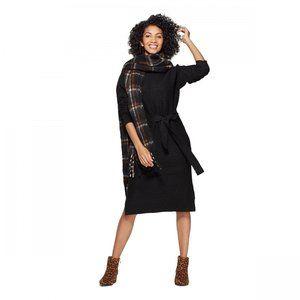 NWT A New Day Turtleneck Sweater Dress XXL Black